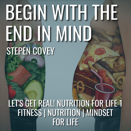 Let's Get Real! Nutrition For Life 1