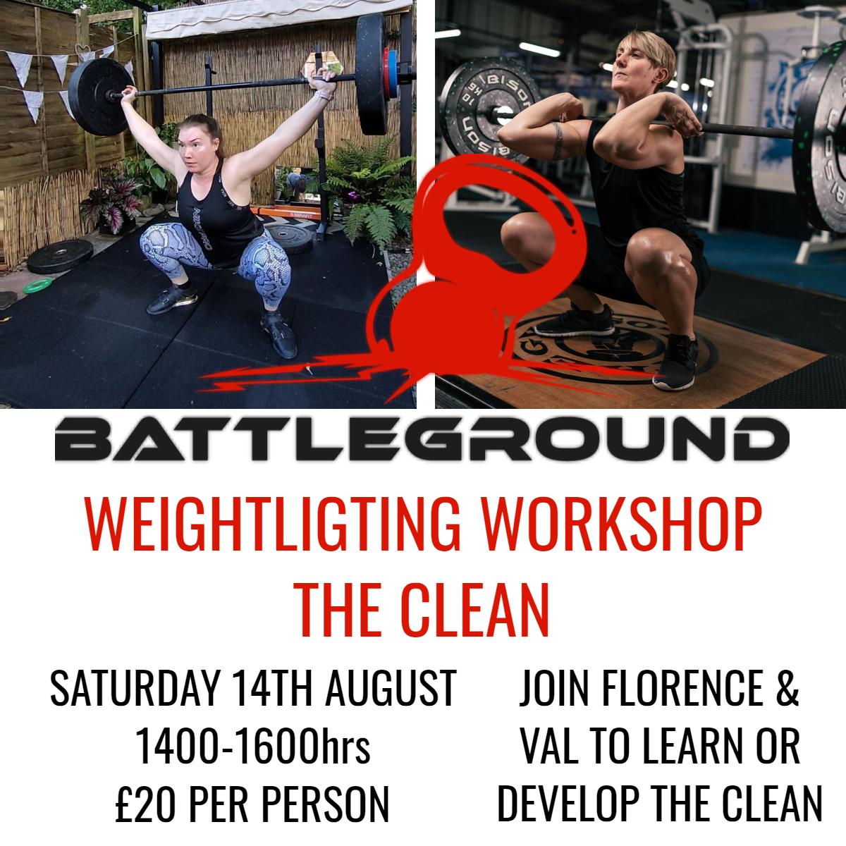 The Clean - Weightlifting Workshop