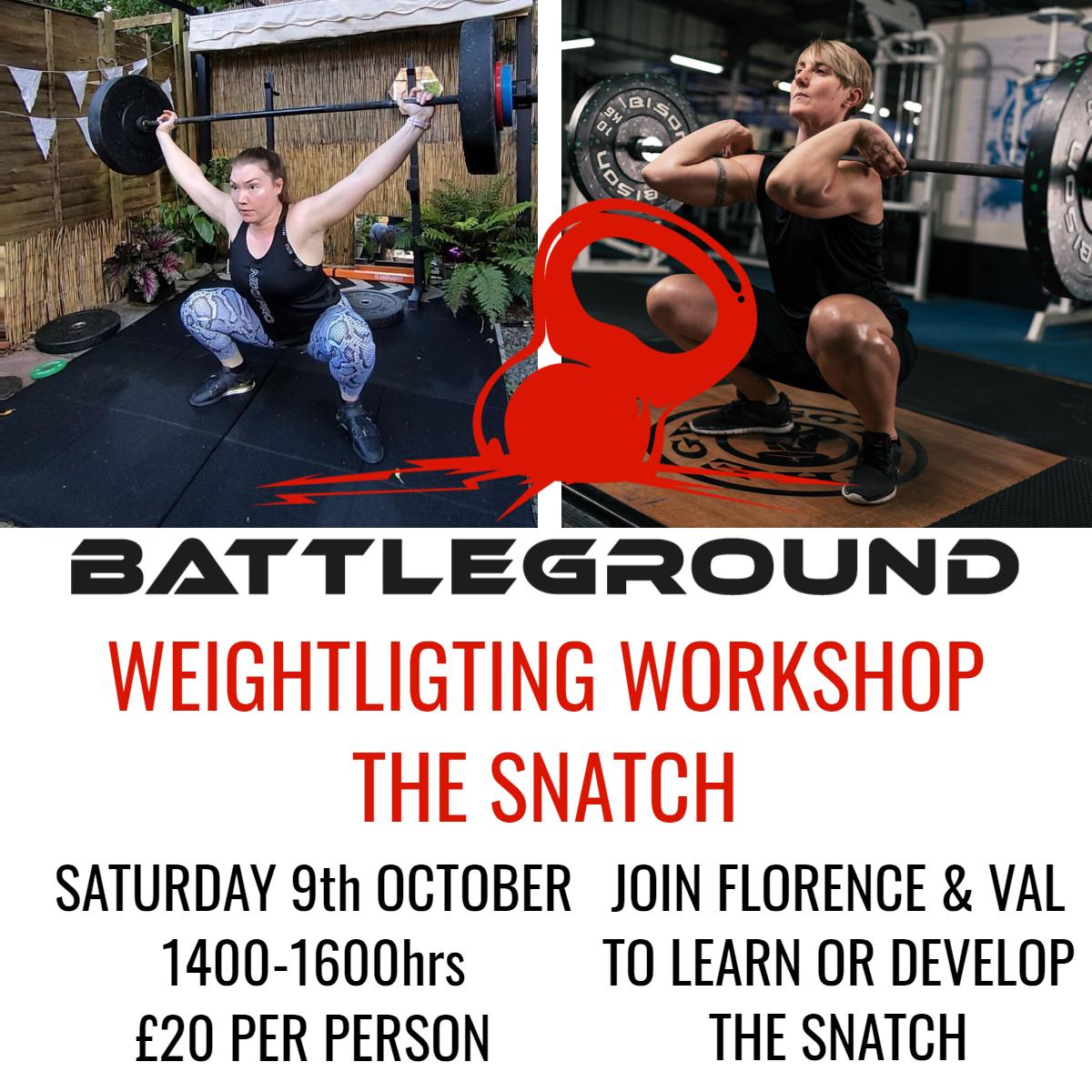 The Snatch - Weightlifting Workshop