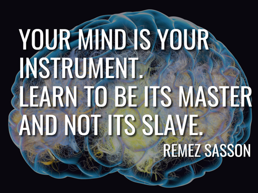 Day 3 - Your Mind is Your Instrument