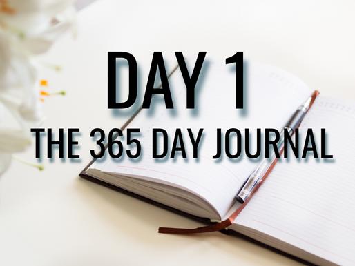 Day 1 - We All Start Somewhere