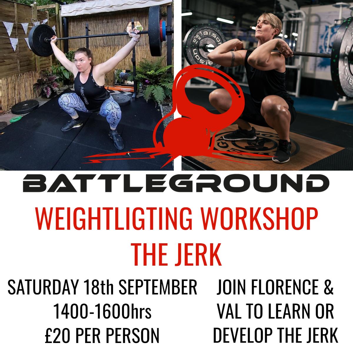 The Jerk - Weightlifting Workshop