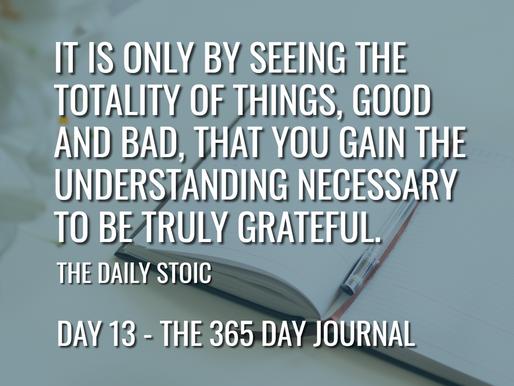 Day 13 – Gratitude
