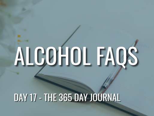 Day 17 – Alcohol FAQs