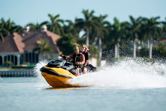 2021 Sea-Doo RXPX-YELLOW-2UP-ACTION-0944