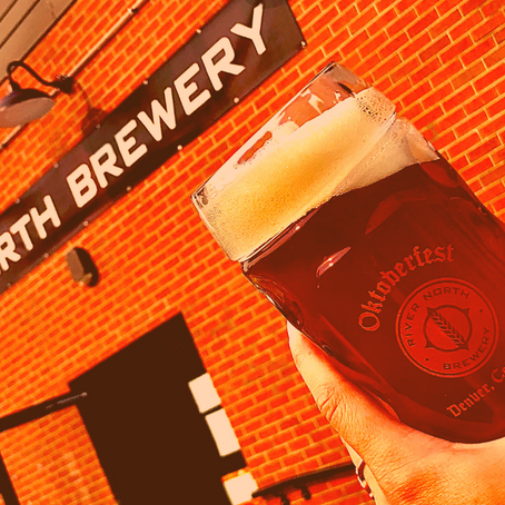 Oans, zwoa, g'suffa! Oktoberfest at River North Brewery this Saturday, September 12th