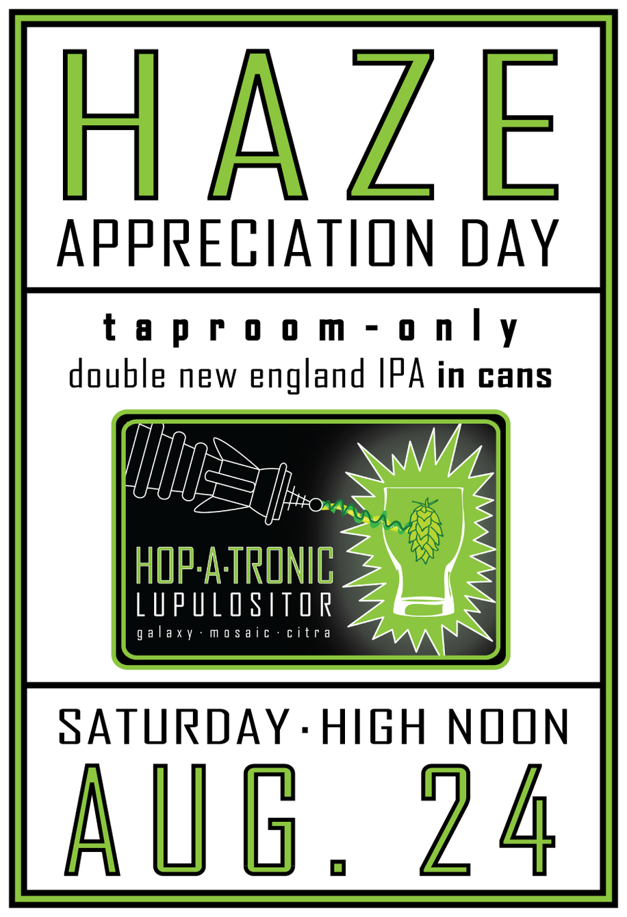 Hop-A-Tronic Release Party: This Saturday High Noon
