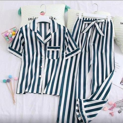 Атласная пижама