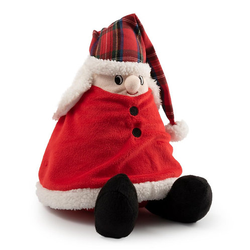 Ancol Nordic Mrs Claus Plush Dog Toy 36cm
