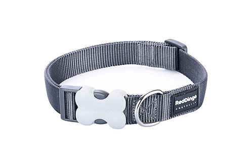 Red Dingo Classic Grey Dog Collar