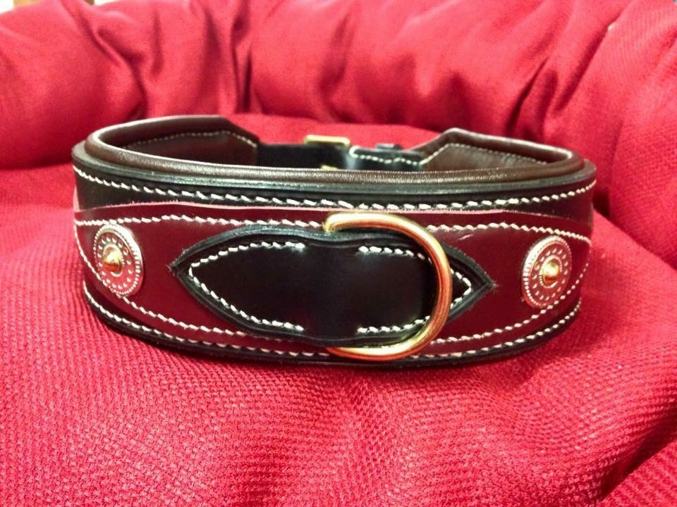 Hilary Lambe Leather Mastiff Collar