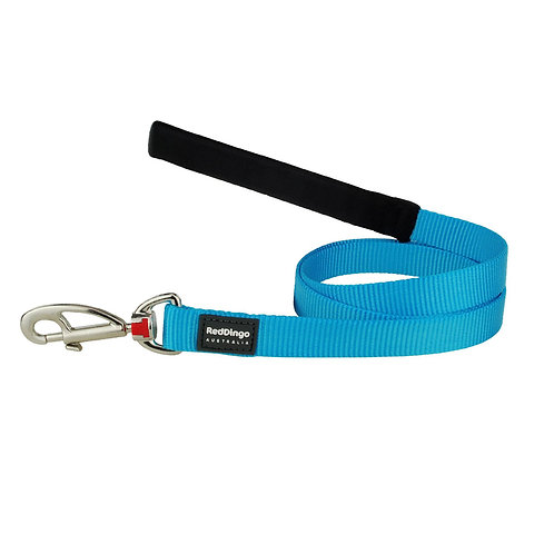 Red Dingo Classic Turquoise Dog Lead