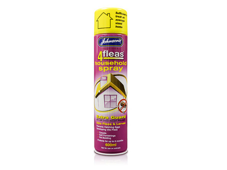 Johnsons Flea Spray 600ml