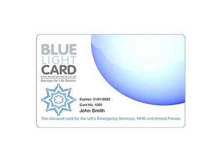 Blue Light Card Discount
