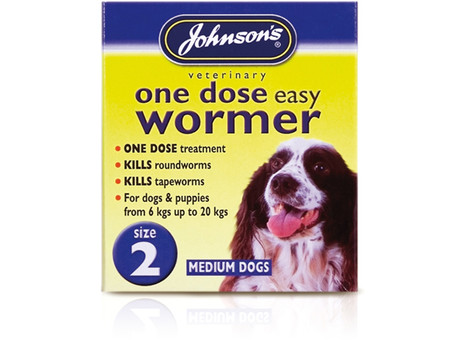 Johnsons One Dose Wormer Treatment