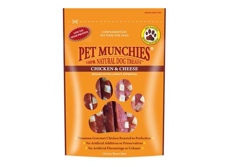 Pet Munchies Chicken & Cheese Dog Treats