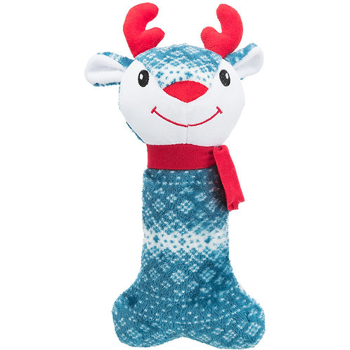 Trixie  Plush Christmas Reindeer Dog Toy 31 cm