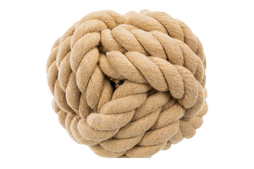 Trixie Be Nordic Rope Ball for Dogs 13cm