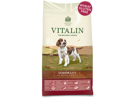 Vitalin Senior-Lite Salmon & Potato