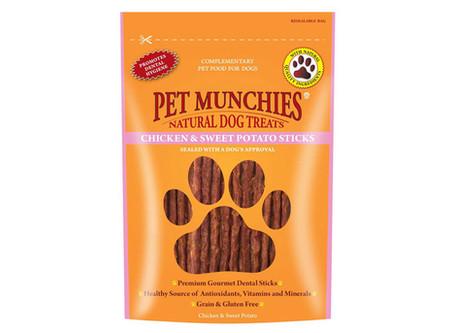 Pet Munchies Chicken & Sweet Potato Sticks Dog Treats