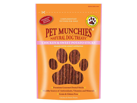 Pet Munchies Chicken & Sweet Potato Sticks Dog Treats
