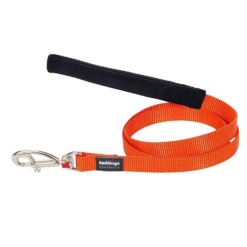 Red Dingo Classic Orange Dog Lead