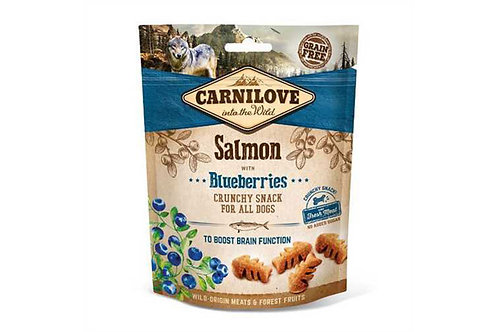 Carnilove Crunchy Snack Salmon with Blueberries