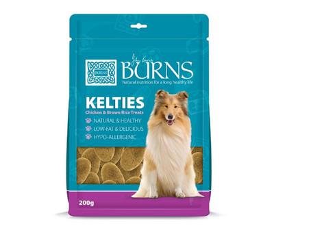Burns Kelties Natural Dog Treats