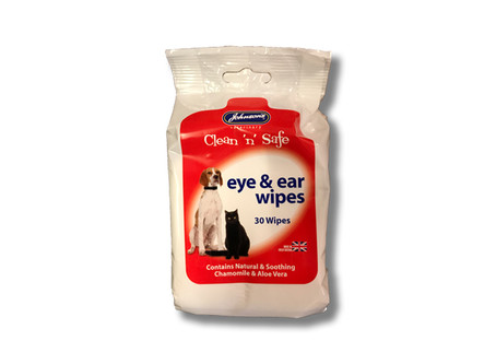 Johnsons Clean 'n' Safe Eye & Ear Wipes