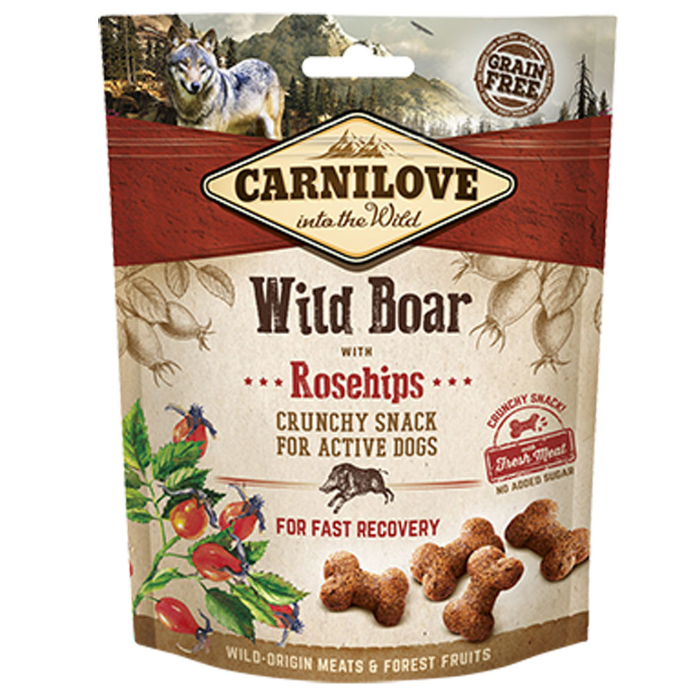 Carnilove Soft Treats Wild Boar and Rose