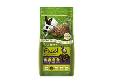 Burgess Excel Adult Rabbit Nuggets Mint