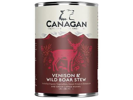 Canagan Venison & Wild Boar Stew Wet Dog Food