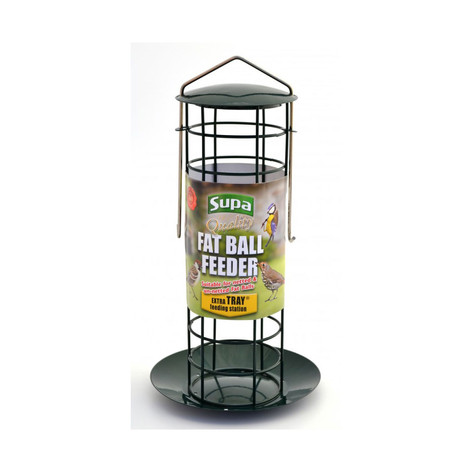 Supa Suet Ball Feeder with Tray