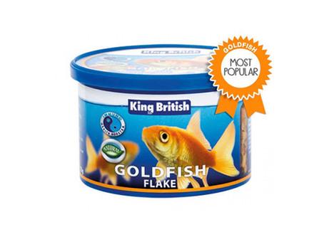 King British Goldfish Flake Food