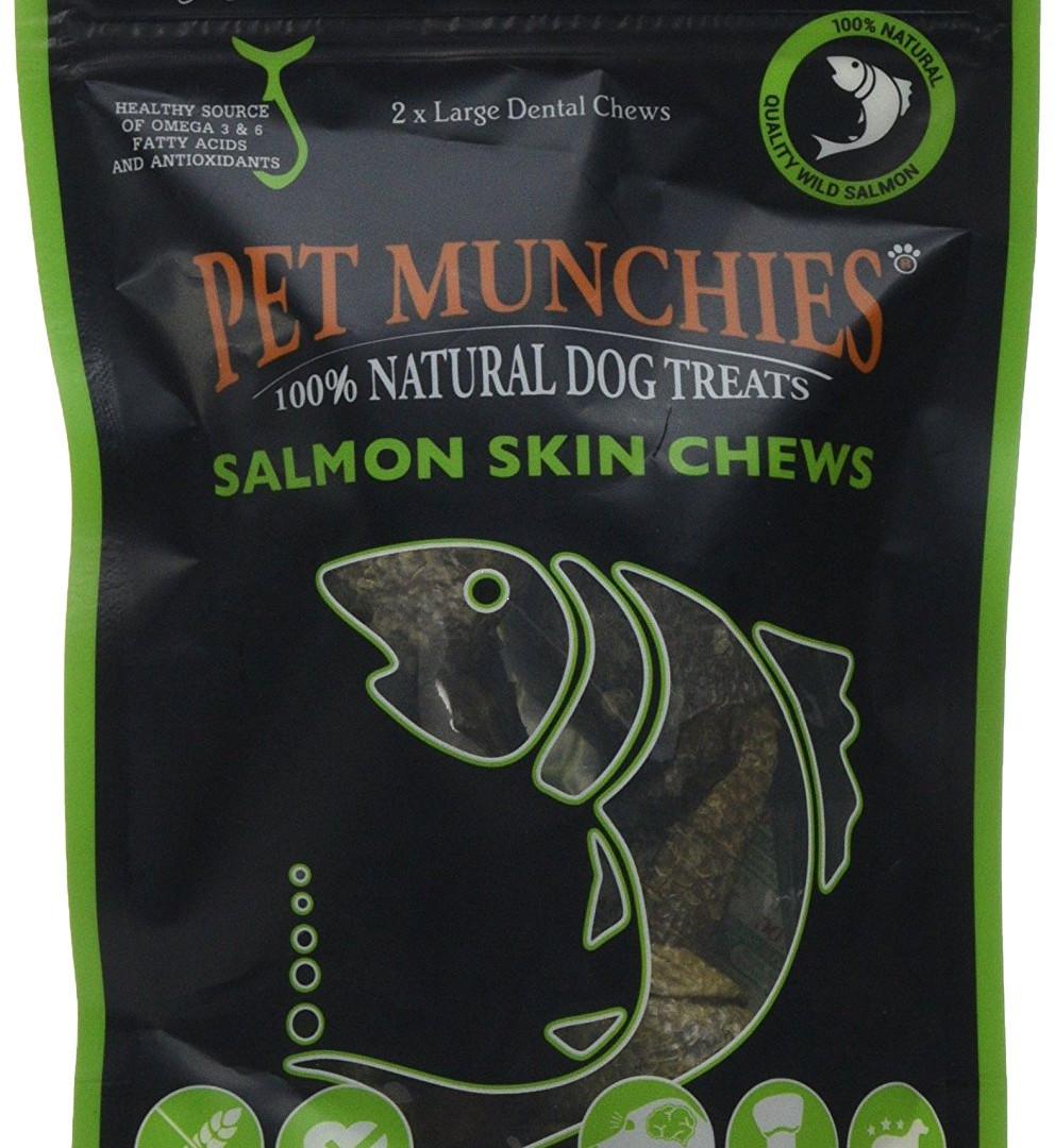 Pet Munchies Salmon Skin Chews