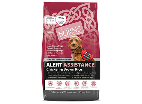 Burns Alert Working & Assistance Adult Dog Food
