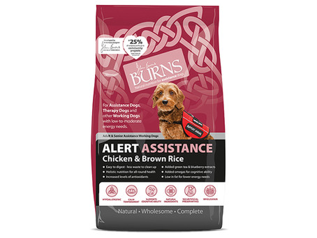 Burns Alert Working & Assistance Adult Dog Food