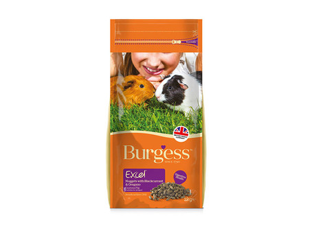 Burgess Excel Guinea Pig Nuggets with Blackcurrant