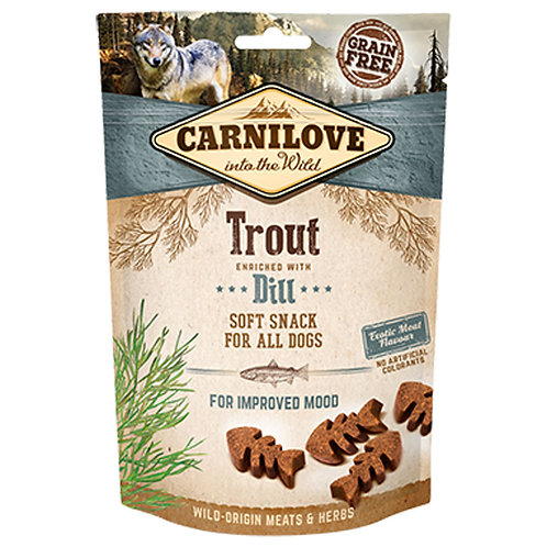 Carnilove Soft Snack Trout with Dill