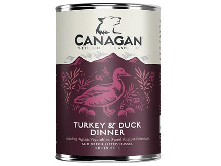 Canagan Turkey & Duck Dinner Wet Dog Food