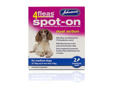 Johnsons Spot On Flea Treatment