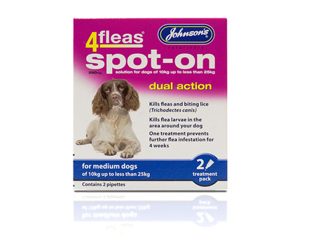 Johnsons Spot On Flea Treatment