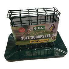 Supa Suet Block Feeder with Tray
