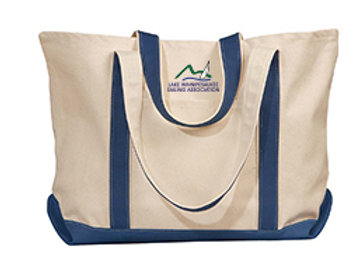LWSA Large Beach Tote Bag