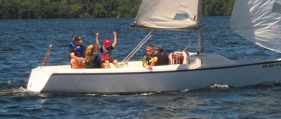 LWSA Sonar sailing lessons