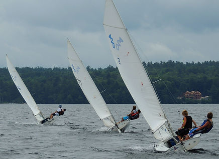 LWSA 420 sailboat racing regatta