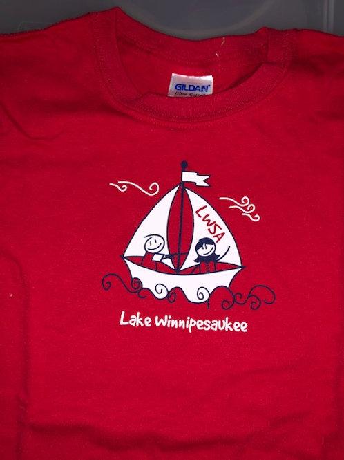 LWSA Camp T-Shirt - Eat Sleep Sail (old version)