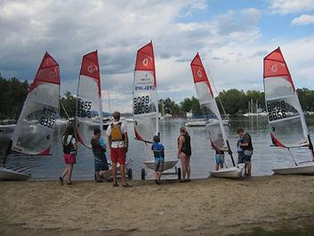 J80 sailboat race regatta Lake Winnipesaukee LWSA