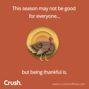 Happy Thanksgiving. We're thankful for you.