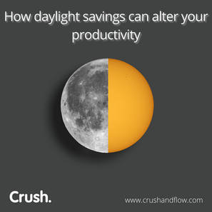 Daylight savings is more than changing our clocks? Yes!